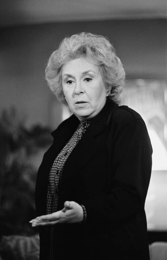 "Doris Roberts in ""Remington Steele"""