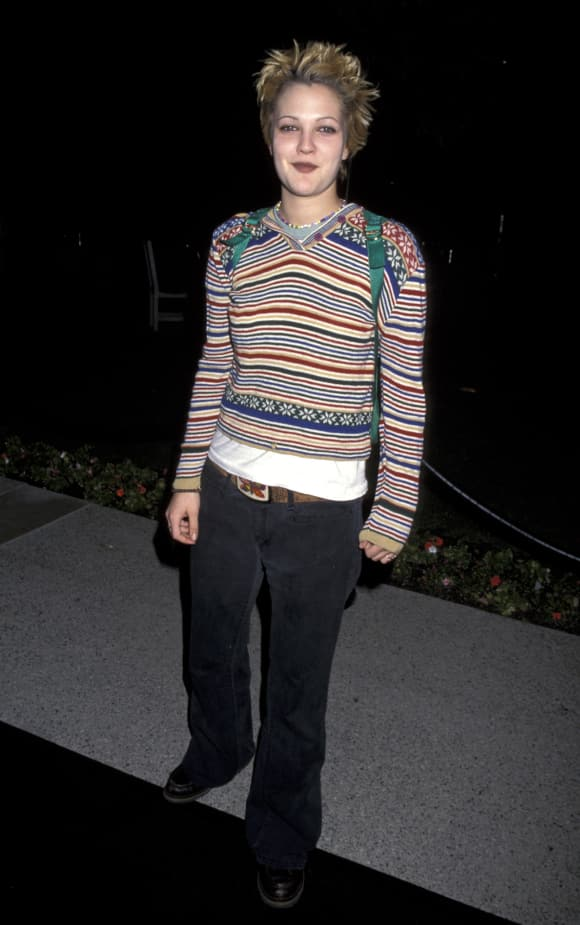 Drew Barrymore im Jahr 1995