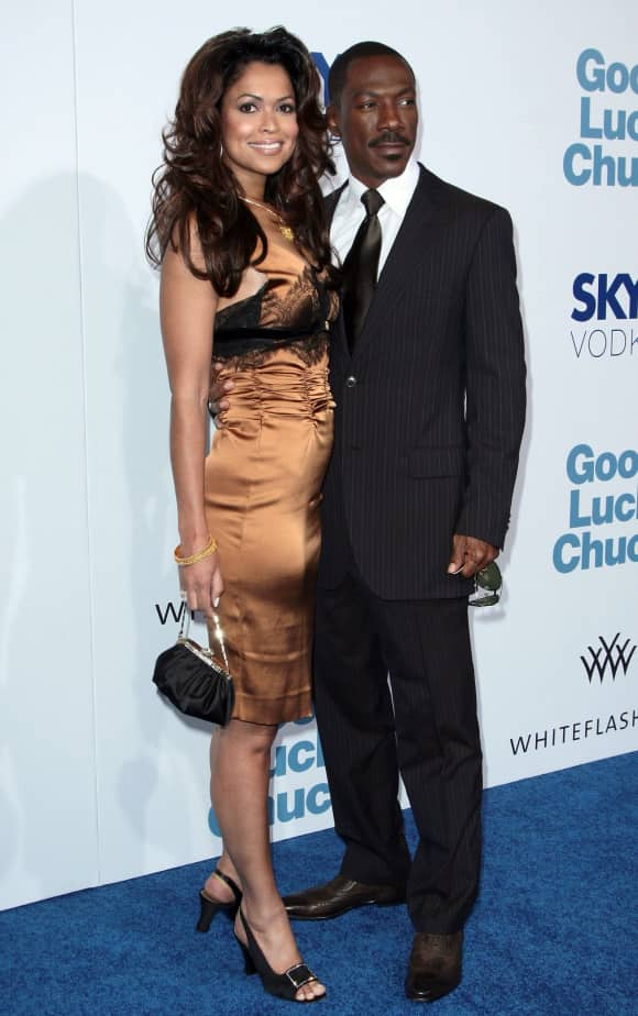 Eddie Murphy and Tracey Edmonds Bora Bora wedding
