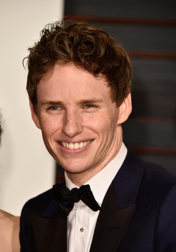 "Eddie Redmayne in the ""Harry Potter"" spin off"
