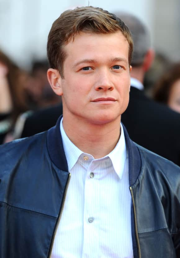 "Edward Speleers played ""Jimmy"" in ""Downton Abbey"""