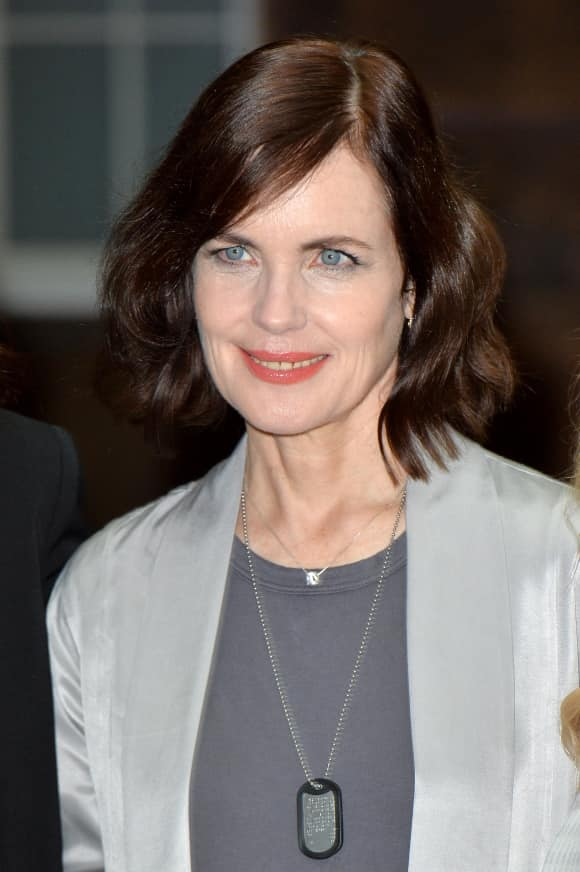 "Elizabeth McGovern is part of the ""Downton Abbey"" cast"