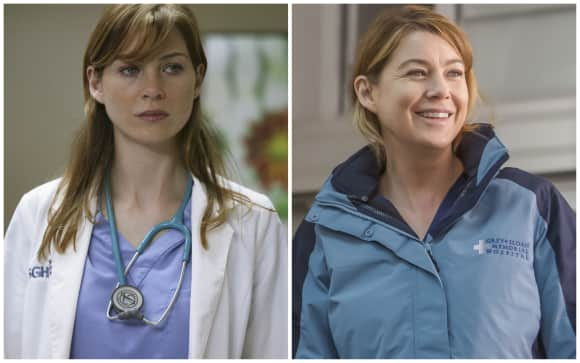 "Actress Ellen Pompeo in ""Grey's Anatomy"""