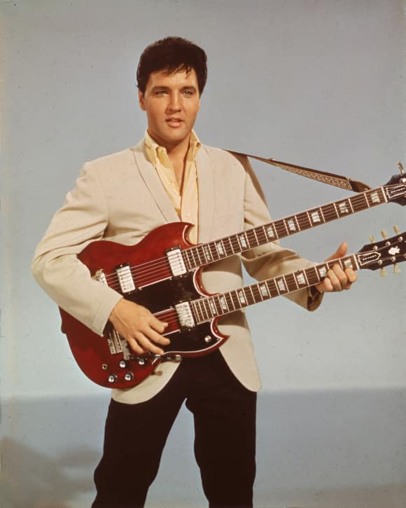 Elvis Presley Guitar Music Legend