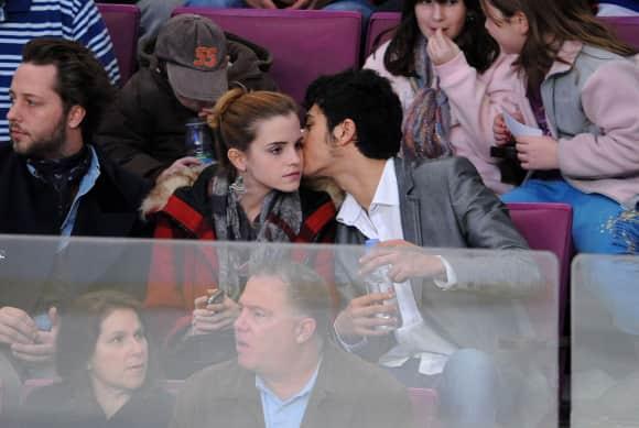 Emma Watson und ihr Ex-Freund im Jahr 2009
