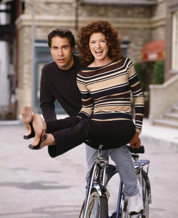 "Eric McCormack and Debra Messing in ""Will & Grace"""