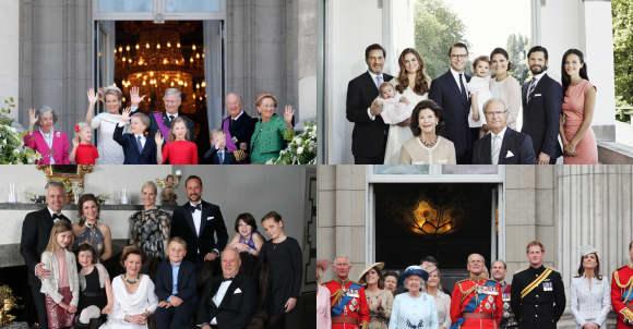 Europäische Königsfamilien