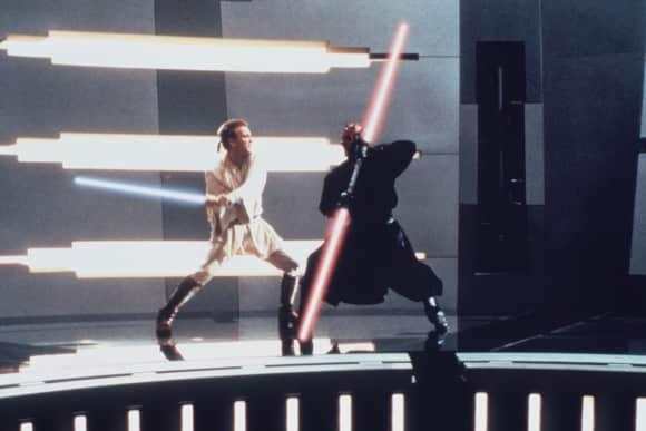 """Ewan McGregor in """"Star Wars: Episode I"""""""