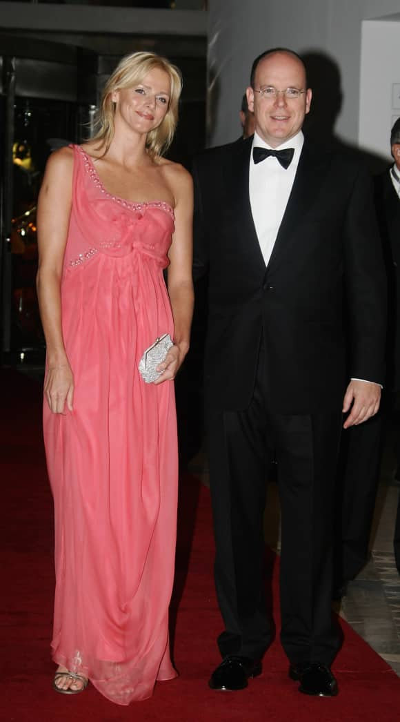 Princess Charlene of Monaco and Prince Albert in 2006