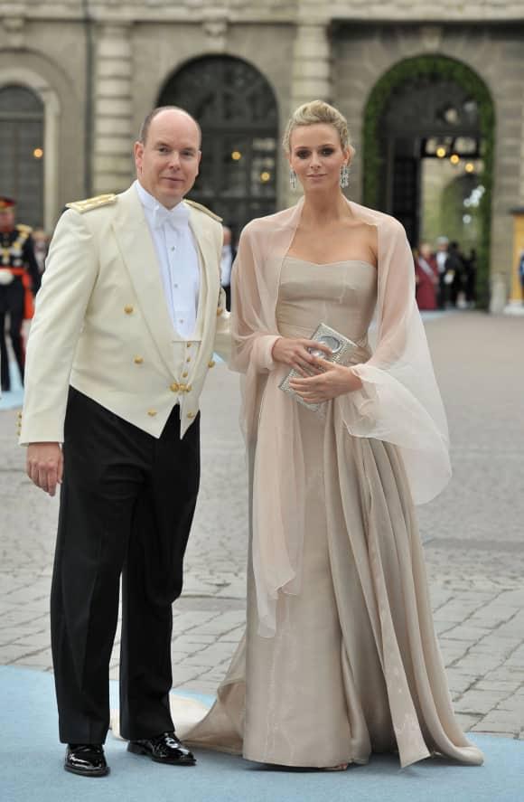 Princess Charlene of Monaco and Prince Albert Wedding Princess Victoria