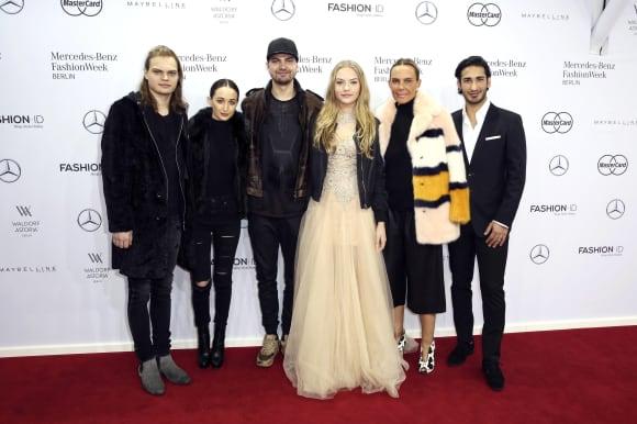 Die Familie Ochsenknecht auf der Fashion Week Berlin