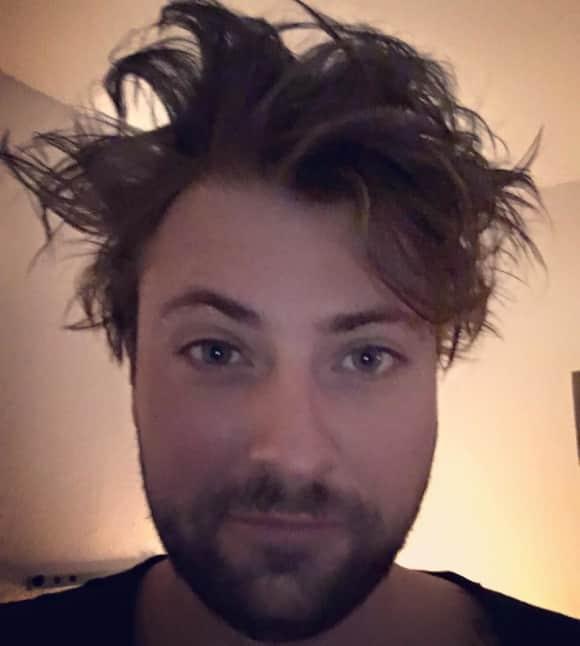 Felix von Jascheroff hat einen Bad-Hair-Day