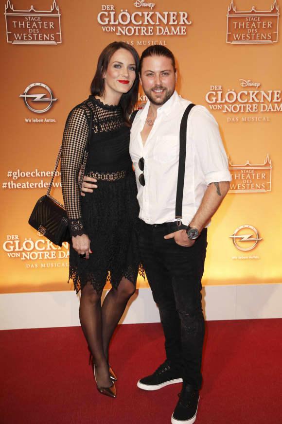 Felix von Jascheroff mit seiner Verlobten Bianca