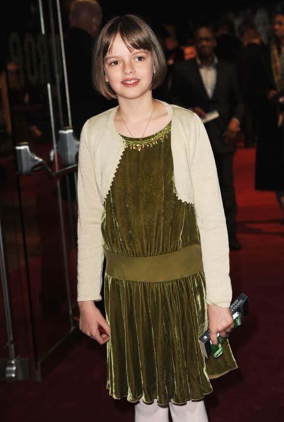 "Freya Wilson played the young Queen Elizabeth II in ""The Kings Speech"""