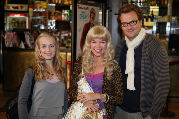 """Friederike Kempter, Anke Engelke und Charly Hübner von """"Ladykracher"""""""