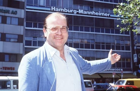 """Günter Geiermann (†) bekannt als """"Herr Kaiser"""" aus der Hamburg-Mannheimer-Werbung"""