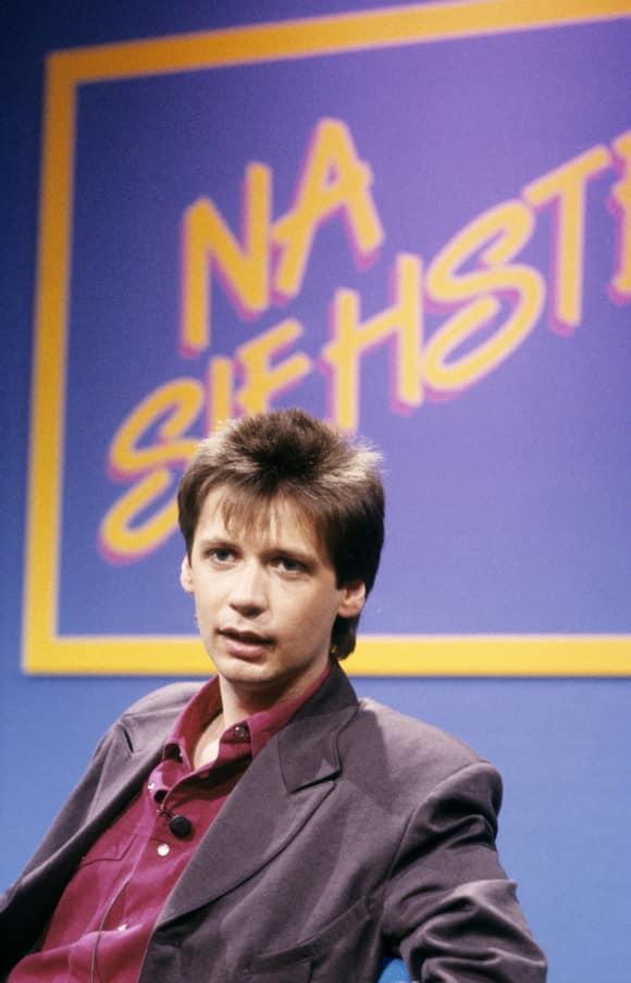 Günther Jauch im Jahr 1987