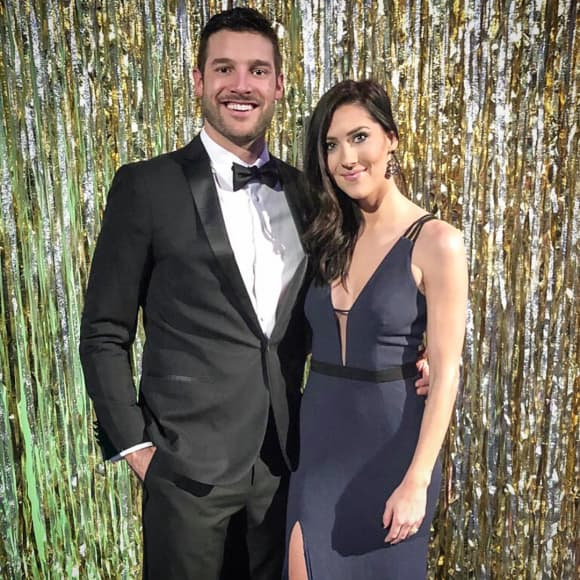 Garrett Yrigoyen and Becca Kufrin  Bachelor couples still together