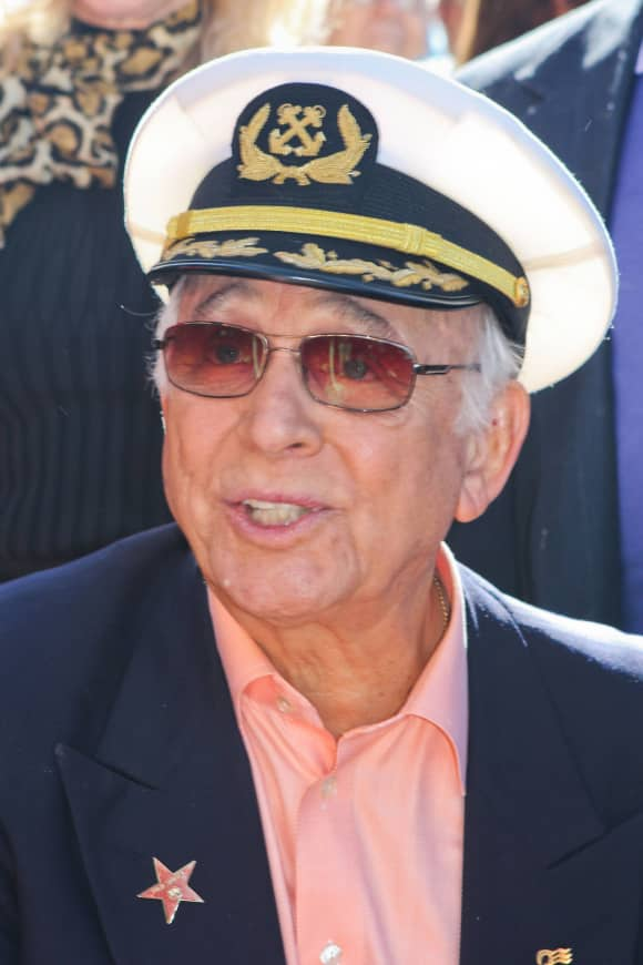 Gavin MacLeod at the Hollywood Walk of Fame