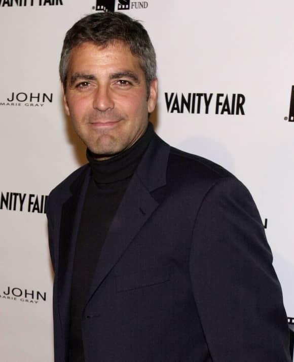 George Clooney in  2000