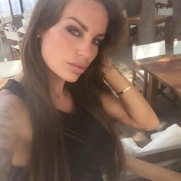 Gina-Lisa Lohfink jetzt mit braunen Haaren