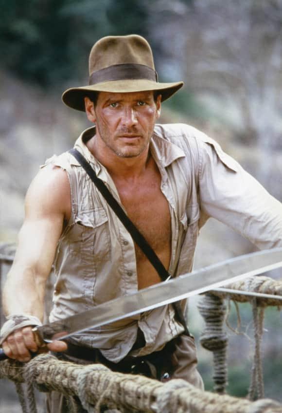 "Harrison Ford als ""Indiana Jones"""