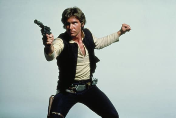 Han Solo was orginally meant to die at the end of Star Wars VI- Return of the Jedi