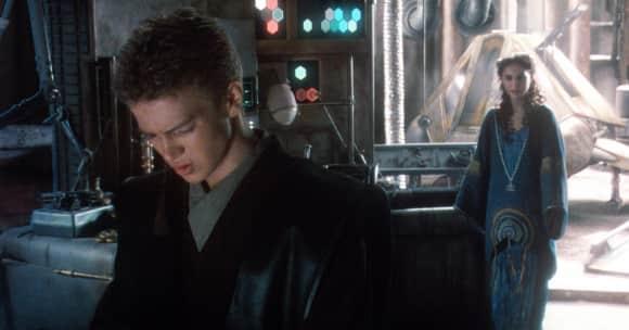 """Hayden Christensen and Natalie Portman in """"Star Wars"""""""
