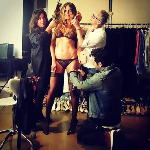 Heidi Klum in sexy Dessous