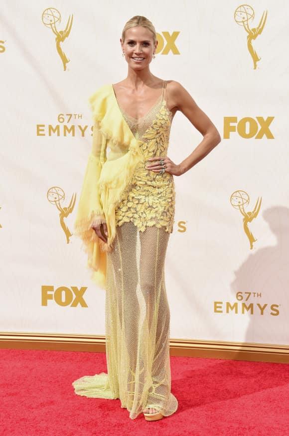 Heidi Klum bei den Emmy Awards