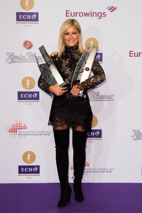 Helene Fischer ECHO-Verleihung 2016 vier Preise