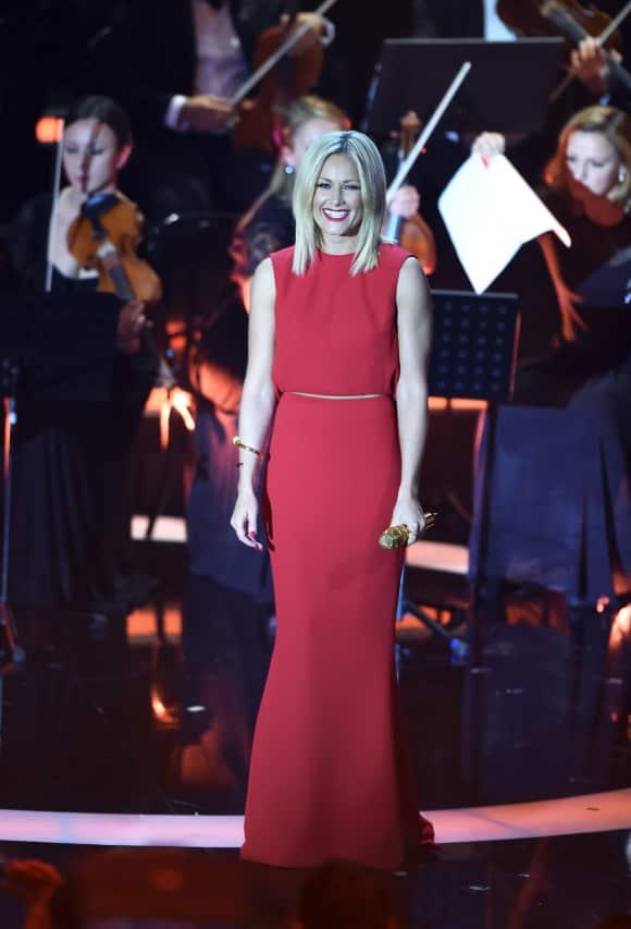 """Helene Fischer bei der """"Die schönsten Weihnachts-Hits""""-Show im Dezember 2015"""