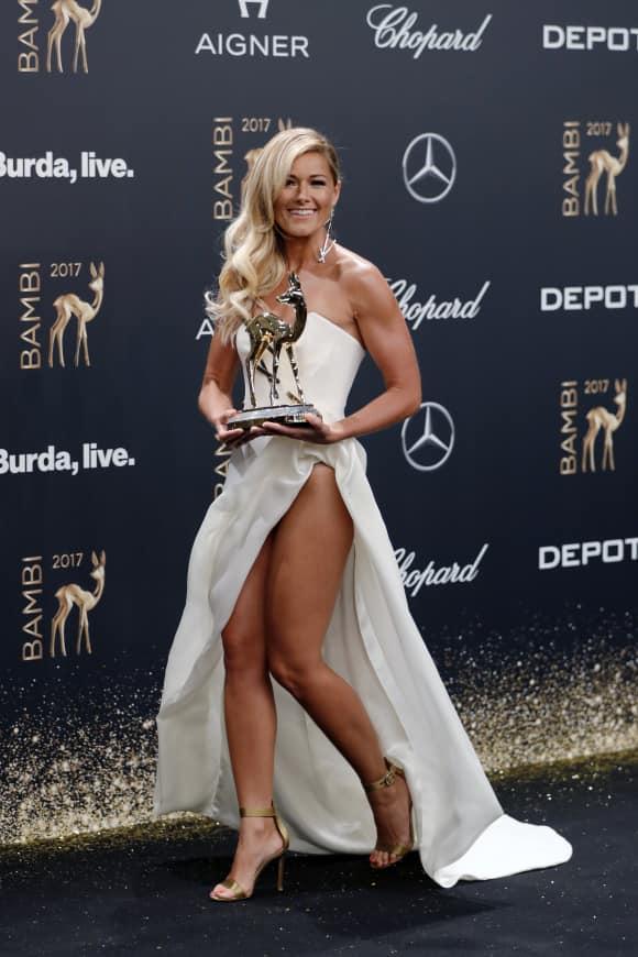 Helene Fischer wurde mit dem Bambi in der Kategorie Künstler National ausgezeichnet