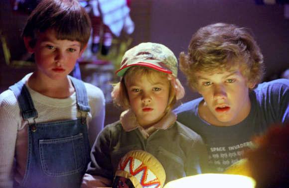 Henry Thomas, Drew Barrymore und Robert MacNaughton spielten in E.T. mit