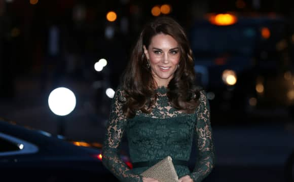 Duchess Catherine in green