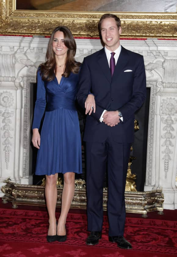 Prince William Kate Middleton engagement