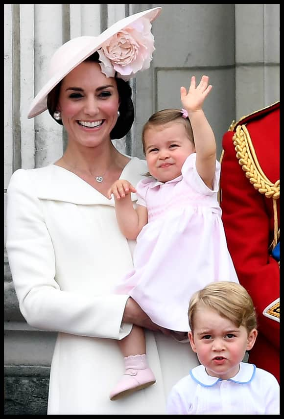 Dutchess Catherine Princess Charlotte Prince George