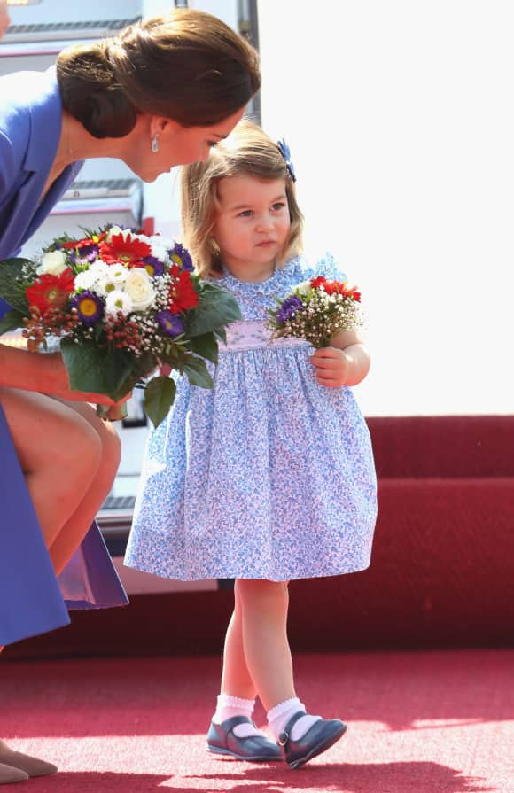 Duchess Catherine and Princess Charlotte
