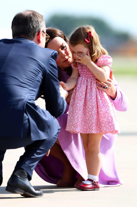 Duchess Catherine, Princess Charlotte