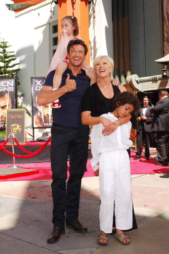 Hugh Jackman was diagnosed with skin cancer in 2013