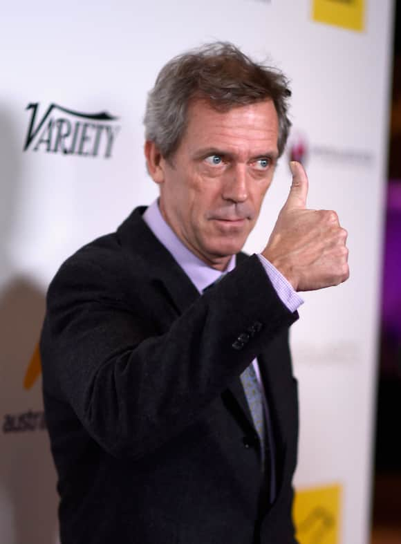 """Hugh Laurie is """"Dr. House"""""""