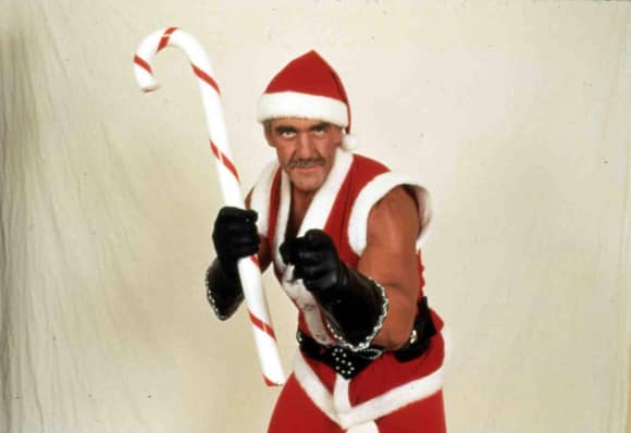 hulk hogan santa claus mit muckis