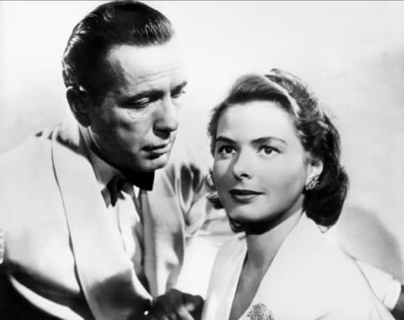 "Humphrey Bogart und Ingrid Bergman in ""Casblanca"""