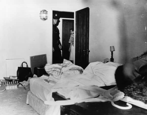 In diesem Zimmer wurde Marilyn Monroe 1962 tot aufgefunden