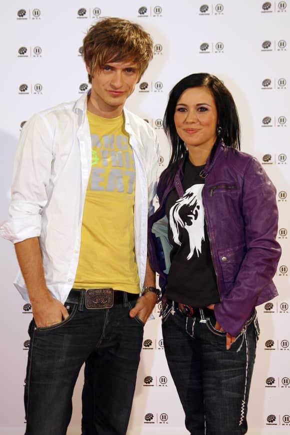 Jörn Schlönvoiht und Sarah Tkotsch 2009