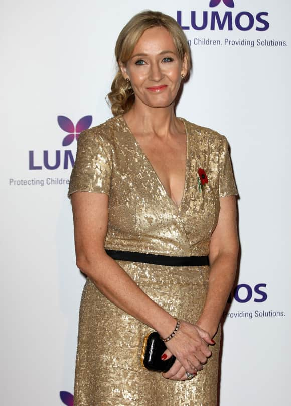 J.K. Rowling was knighted in 2009