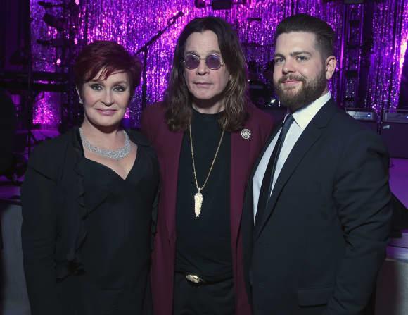 Jack Osbourne mit seinen Eltern Sharon und Ozzy Osbourne