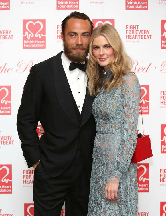 James Middleton Girlfriend Donna Air