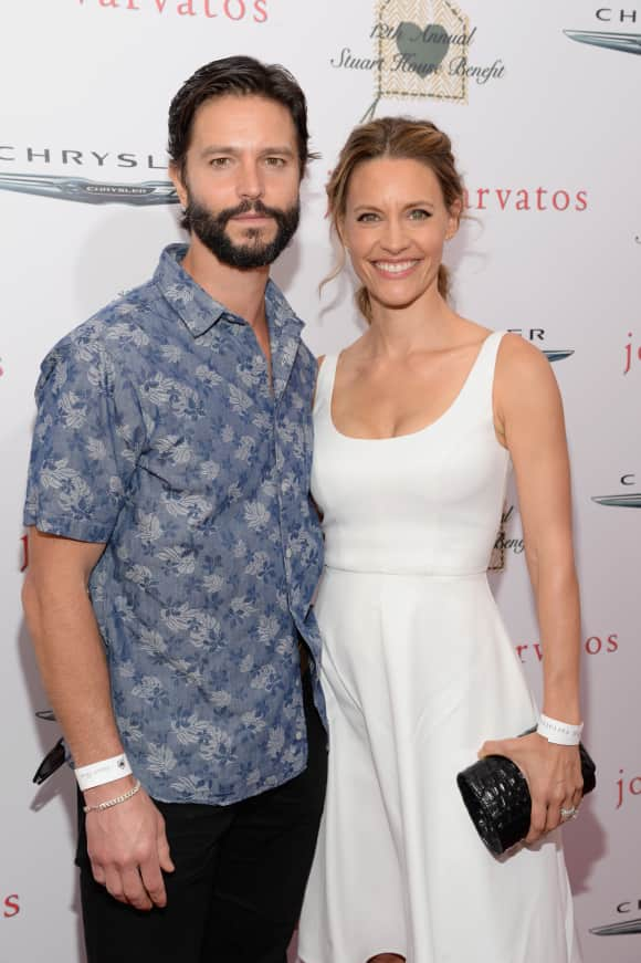 Jason Behr and Kadee Strickland have been married since 2006