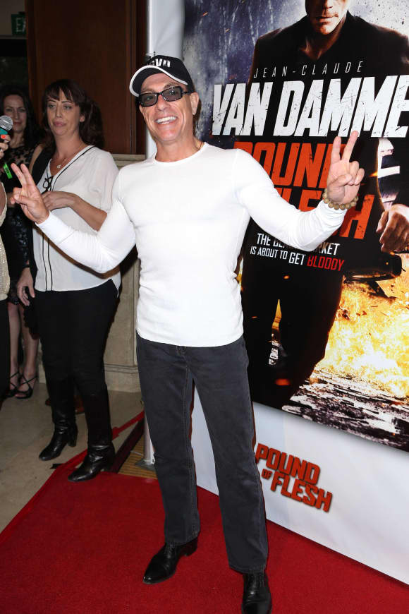 Jean Claude van Damme today